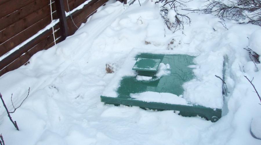 Можно ли использовать септик Топас зимой?