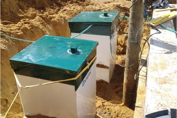 Две автономные канализации Астра 5 в Сертолово