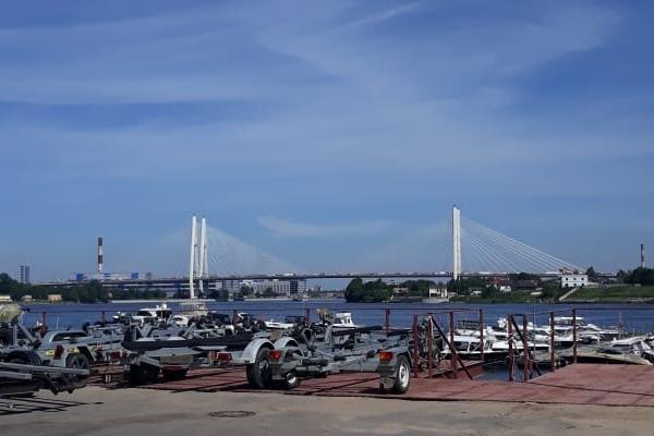 Септик Юнилос Астра 3 для яхт-клуба в Рыбацком, Спб