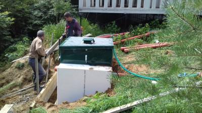 Установка канализации в СПб