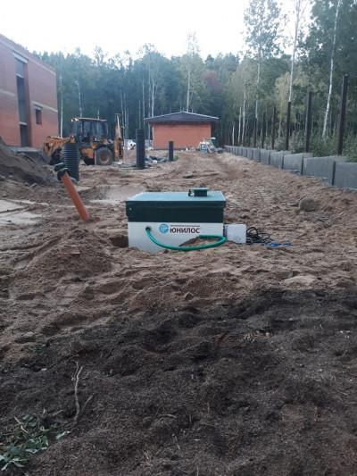 Локальная канализация для дома цена от 80000 рублей