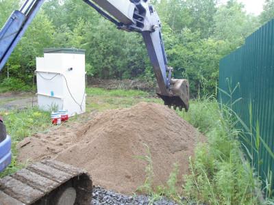 Установка канализации Топас